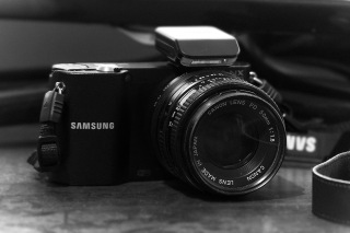 Samsung with Canon 50mm f1.8